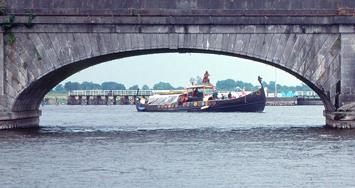 Viking Ship circa 1990