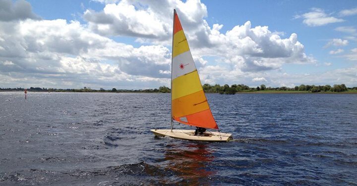 sailboat on Lough Ree